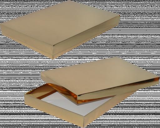 pudełko 35x24x4 złote błysk