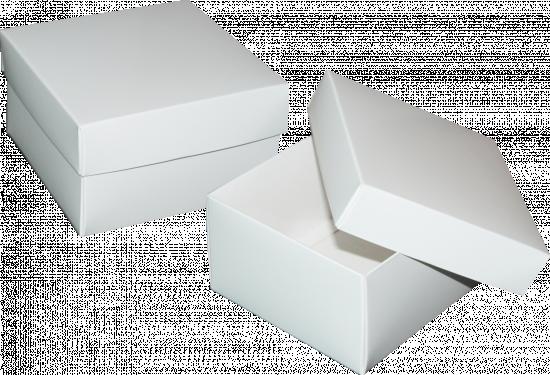 pudełko 12x12x7 białe błysk