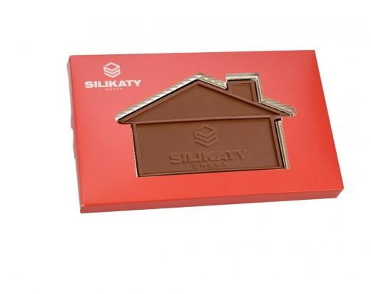 czekoladowy domek