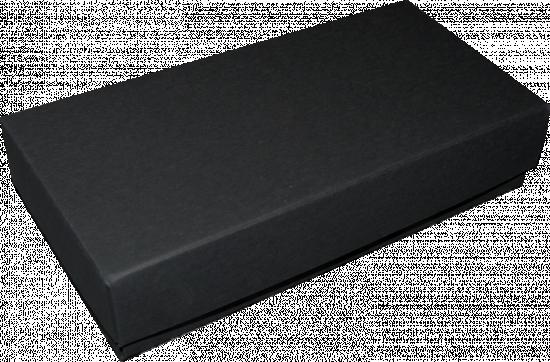 pudełko 18x18x4 czarne