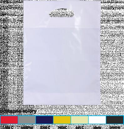 torba foliowa market 30x40 srebrna