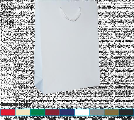 torba papierowa lakierowana 16x7x24 kolor