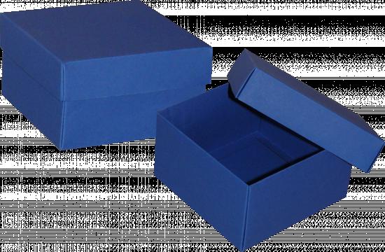 pudełko 12x12x7 niebieskie