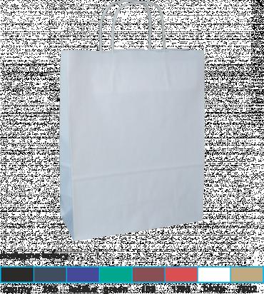 torba papierowa z uchwytem skręcanym 31x12x41 kolor
