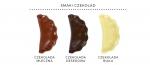 czekoladowe pierogi