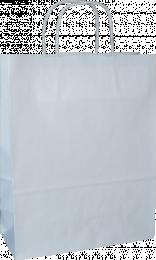 torba papierowa z uchwytem skręcanym 34x20x36 biała gładka