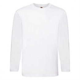 koszulka super premium z długim rękawem   fruit of the loom