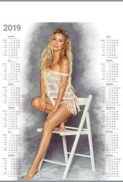 kalendarz plakatowy b-1 2019, p13 - alicja 2019
