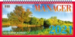 Kalendarz biurowy MANAGER 2021 (H3)