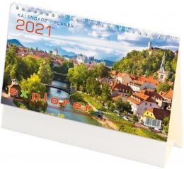 Kalendarz biurowy EXPLORER 2021 (H1)