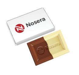 mini tabliczka 10 g z logo