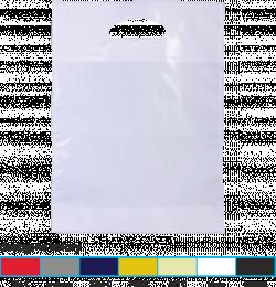 torba foliowa market 25x30 srebrna