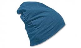 czapka 3001blue l cotton elastan beanie